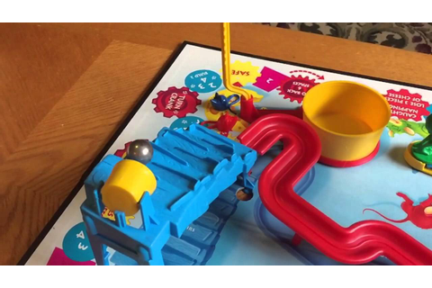 Mouse Trap Game In Slow Motion 19 -seconds - YouTube
