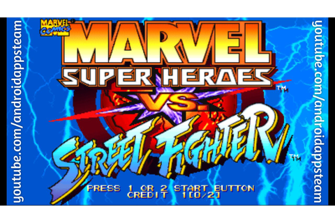 Marvel Super Heroes vs Street Fighter Para Android (Juegos ...