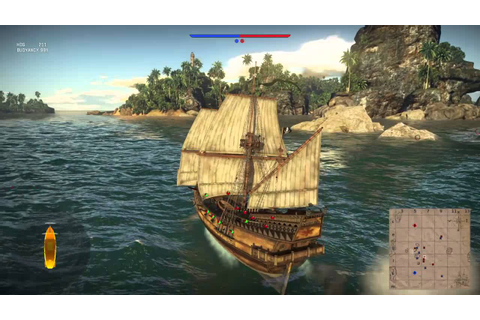 War Thunder Pirate ship game play - YouTube
