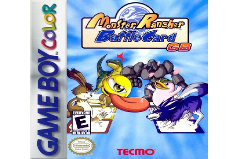 ***MONSTER RANCHER BATTLE CARD GAMEBOY COLOR GAME GBC ...