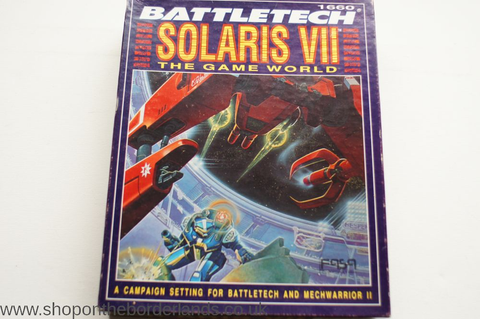Solaris VII: The Game World, boxed campaign setting for ...