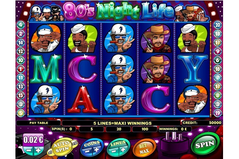 80's Night Life pokie by iSoftBet - play online for free!