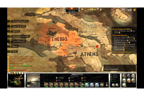 Hegemony Gold: Wars of Ancient Greece gameplay - YouTube
