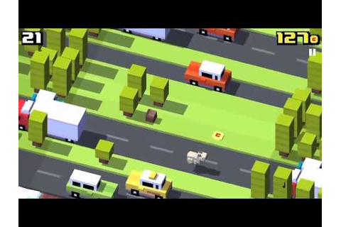 Cross road game play - YouTube