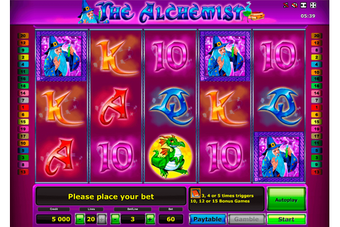The Alchemist Slot Machine Online Play FREE The Alchemist ...