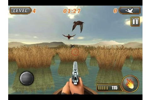 Ace Duck Hunter iPhone / iPad Game - YouTube