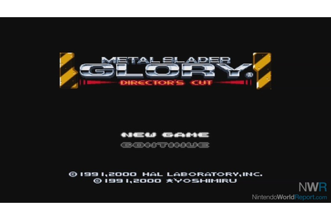 Metal Slader Glory: Director's Cut - Game - Nintendo World ...