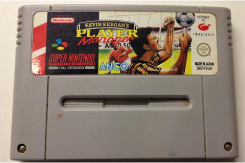 Kevin Keegans Player Manager - Used - SNES