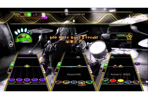 Guitar Hero Metallica One Full Band Expert HD ...