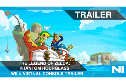 The Legend of Zelda: Phantom Hourglass (Wii U Virtual ...
