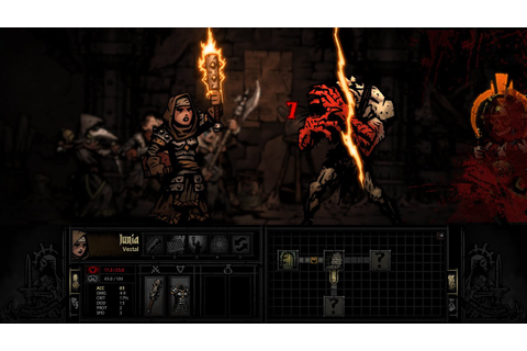Darkest Dungeon PAX Prime 2014 Demo Gameplay - THE RUINS ...
