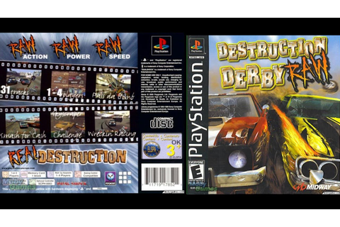 [PS1] Destruction Derby Raw Gameplay [ePSXe][1080p] - YouTube
