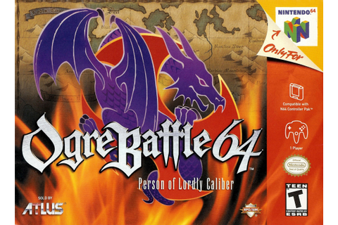 Ogre Battle 64: Person of Lordly Caliber Nintendo 64 Game