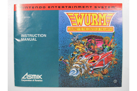 Manual - Wurm Journey To The Center Of The Earth - Nes ...