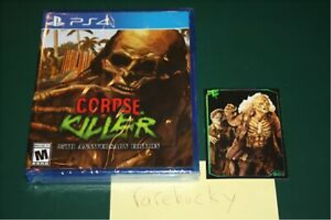 Corpse Killer Cover 1 (PS4) NEW SEALED W/CARD, MINT ...