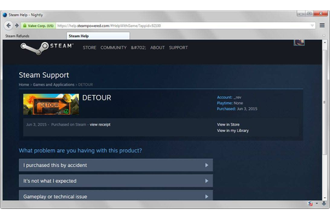 Steam Refunds: get refunds for games purchased on Steam ...