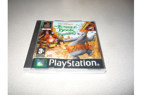 Disney's The Jungle Book Groove Party Sony PlayStation 1 ...