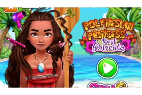 Polynesian Princess Real Haircuts -Baby Games - Disney's ...