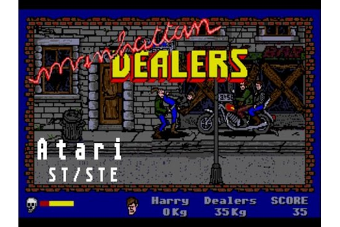 Manhattan Dealers (Operation Cleanstreets) - Atari ST ...