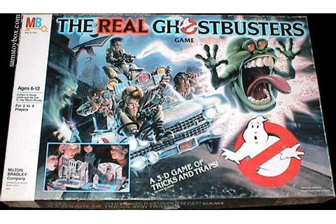 The Real Ghostbusters Game by Milton Bradley - Sam's Toybox