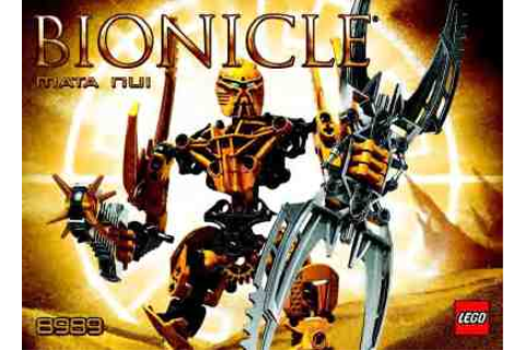 LEGO BIONICLE - MATA NUI 8989 Toy/ Game download manual ...