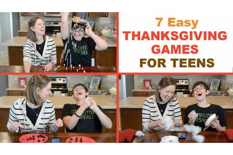 7 Best Thanksgiving Party Games for Teens! | Family Fun ...