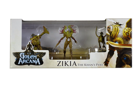Golem Arcana Zikia The Khans Pyre Board Game ** You can ...