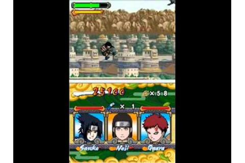 #2 Naruto: Ninja Council 2 European Version [NDS ...