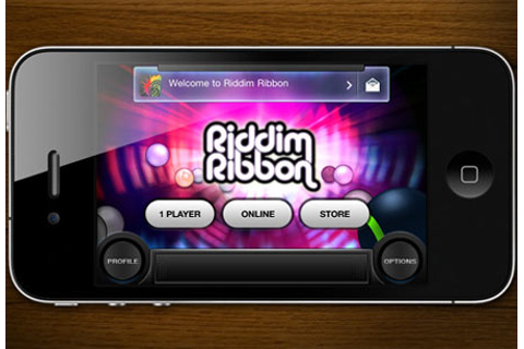 Riddim Ribbon races onto the App Store - Mobiletor.com