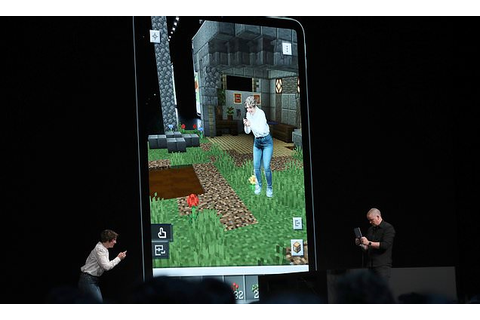 Microsoft gives first look at new Minecraft Earth mobile ...