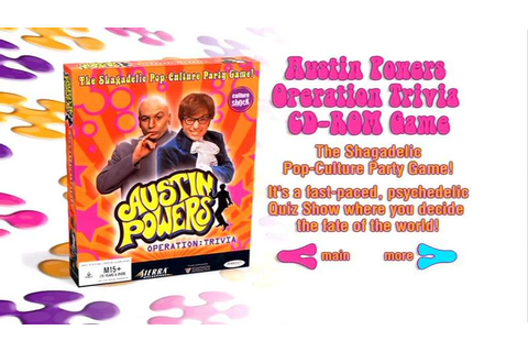 Austin Powers: The Spy Who Shagged Me Easter Egg - Austin ...