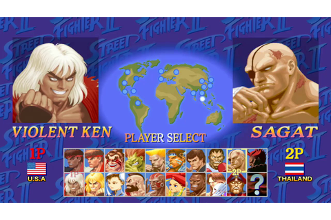Ultra Street Fighter II: The Final Challengers - Nintendo ...