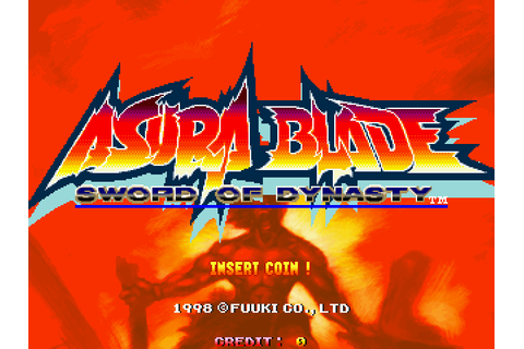 Asura Blade: Sword of Dynasty (1998) by Fuuki Arcade game