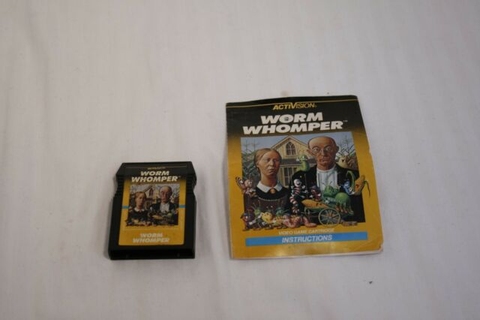 Worm Whomper (Intellivision, 1983) for sale online | eBay