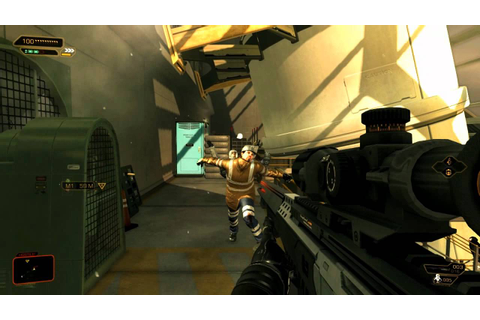 Deus Ex: Human Revolution - Various Gun Gameplay [PC ...