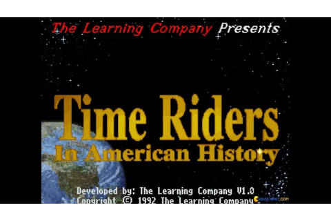 Time Riders in American History gameplay (PC Game, 1992 ...