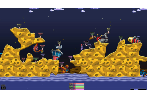 Free Download: Worms: Armageddon Game For Pc