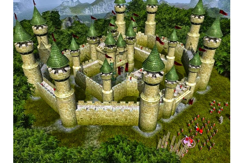 Screen shots of stronghold legends game
