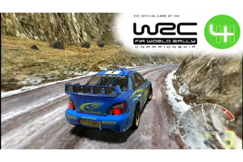 WRC 4: FIA World Rally Championship ... (PS2) - YouTube