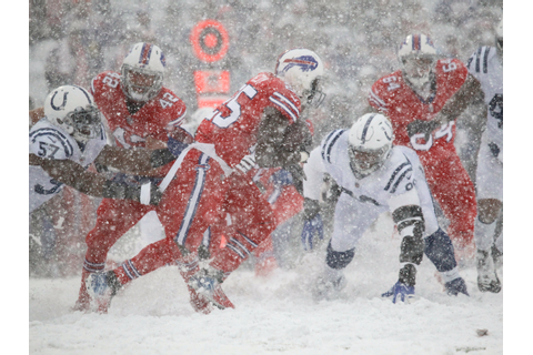 Bills and Colts play in a whiteout after snow takes over ...