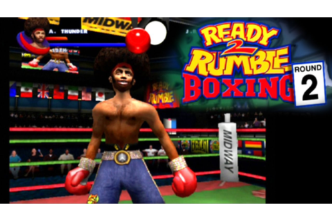Ready 2 Rumble Boxing: Round 2 ... (PS2) - YouTube