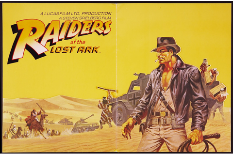 Cap'n's Comics: Raiders of the Lost Ark by Jim Steranko