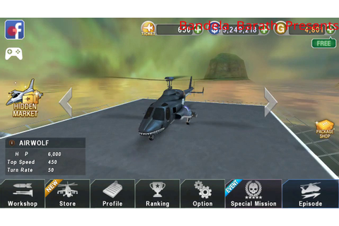 Gunship Battle Game - Episode 1 - Mission 2 - Air wolf ...