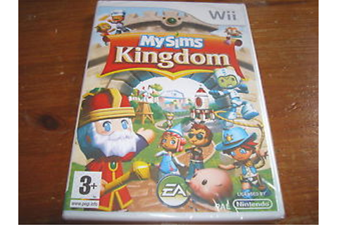 MYSIMS KINGDOM ( My Sims ) ** NEW & SEALED ** Nintendo Wii ...