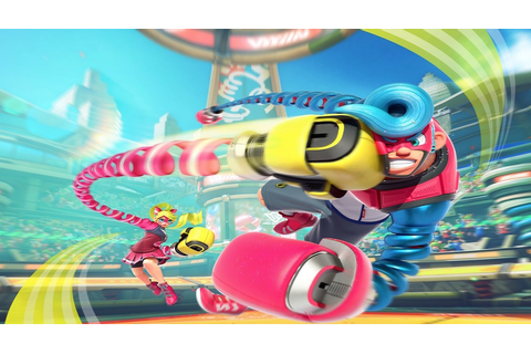 Nintendo Announces Two New Switch Games: 1-2-Switch & Arms