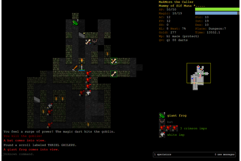 Dungeon Crawl Stone Soup - free and open source roguelike ...