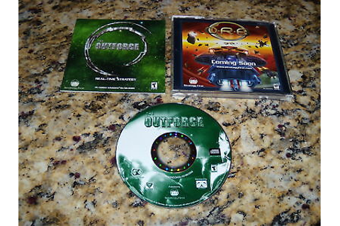 The Outforce Out Force (PC, 2001) Game Windows ...