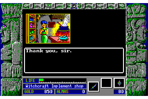Zeliard (1990) MS-DOS game