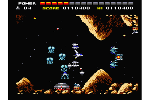 Space Manbow (1989, MSX2, MSX2+, Konami) | Comments ...