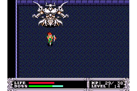 King Colossus (Genesis) Boss 05 King Goran (No Damage ...